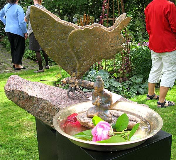 åbenhave 2 bronze sommerfugl