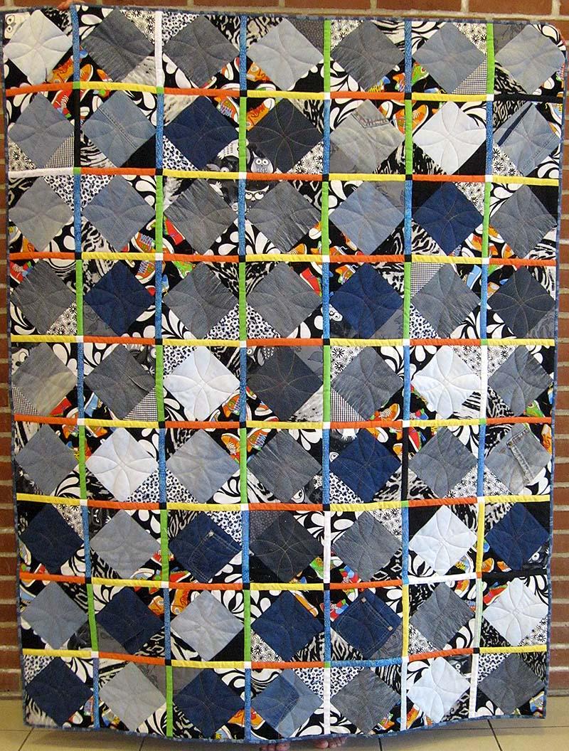 27 denimtæppe lisbeth adrian