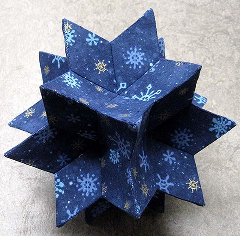 blå julestjerne