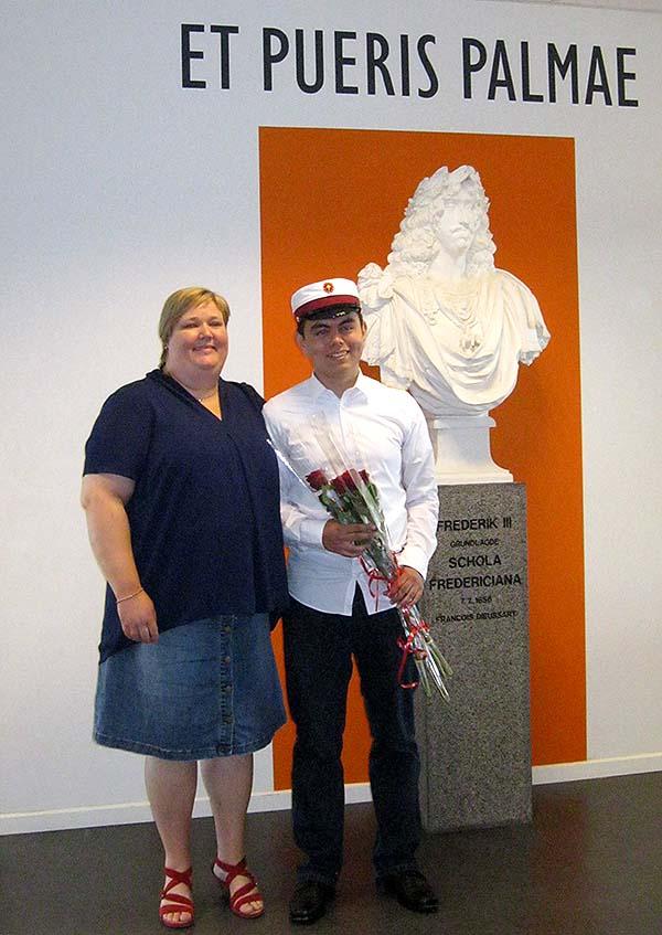studenten og gudmor